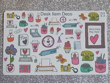Desk/Office Deco -Planner/Diary/Scrapbooking Stickers -Hand Drawn- GlossyPaper
