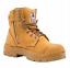 Steel-Blue-Argyle-Zip-Wheat-Safety-Work-Boots-Size-7-5-8-5us-Toecap-332152 thumbnail 4
