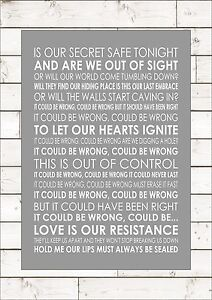 Resistance muse word typography words song lyric lyrics music wall image is loading resistance muse word typography words song lyric lyrics publicscrutiny Choice Image
