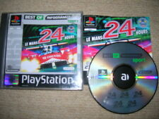 LE MANS 24 HOURS - Rare Sony Playstation PS1 / PS2 Game