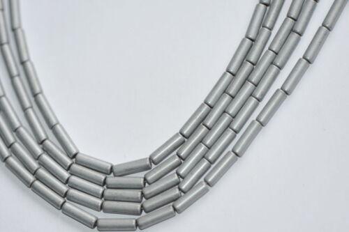 13x4 mm hematites laminado Strang color plata mate T3-16