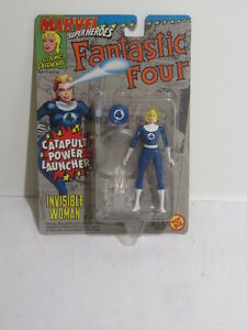 Toy-Biz-Marvel-Super-Heroes-Fantastic-Four-Invisible-Women-5-034-Action-Figure