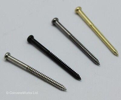 2 pairs pickup screws & springs for bass, P90, soapbar, etc. UK SELLER
