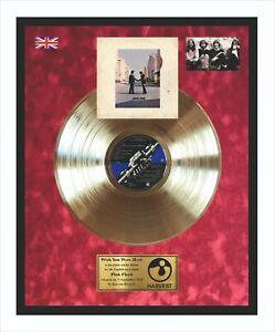 PINK Floyd Wish you were here disco d'oro nel quadro