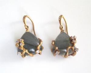 New-Gold-Vermeil-Labradorite-CZ-Teardrop-Dangle-Earrings