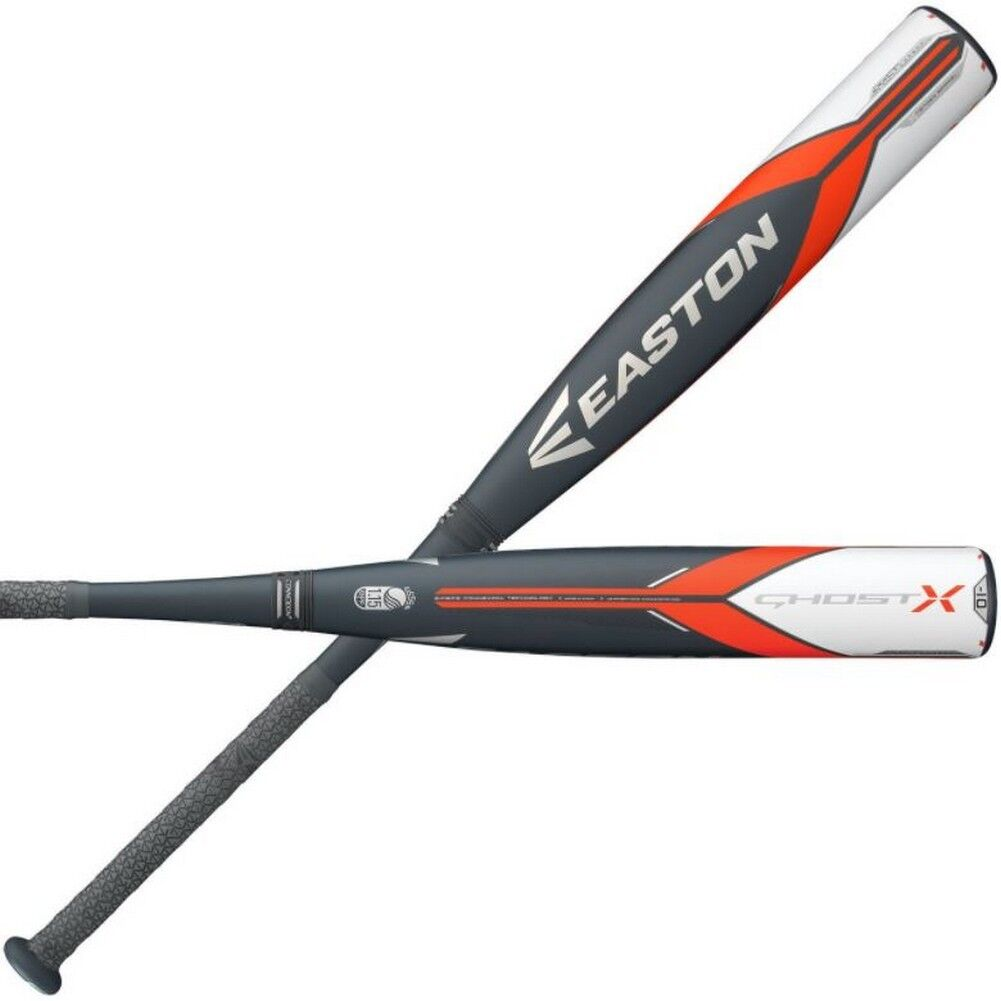 Easton Senior League Baseball Bat Ghost X USSSA (-10) 2 3 4 SL18GX10 (27 -17oz)