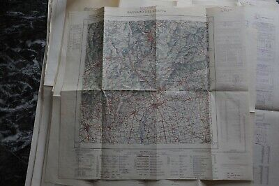 Cartina Geografica Bassano Del Grappa.Istituto Geografico Militare Cartina Geografica Bassano Del Grappa Ebay