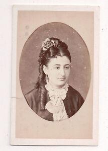 Vintage-CDV-Raphaella-Daughter-of-Comte-de-Ponce-DeLeon-Jerez-Photo