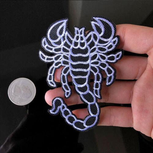 1PC scorpion patch brodé Vêtements Décoration Autocollants À faire soi-même Décalques Iron on BARONNIES