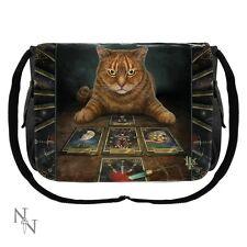 Nemesis Now Cat Messenger Bag The Reader - Lisa Parker