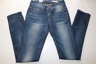 G Star Raw Nova jean skinny slim bleu délavé Stretch Denim Jeans W24 L32 | eBay