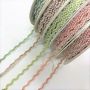 Bertie-039-s-Bows-6mm-Vine-Stitch-Ric-Rac-sold-by-the-metre