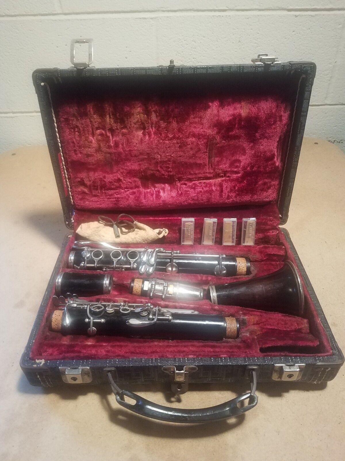 Vintage Musical Instrument  Clarinet  Attic Find