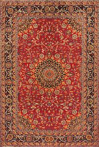 TAPIS-ORIENTAL-authentique-tisse-a-la-main-PERSAN-N-4388-290-x-195-cm