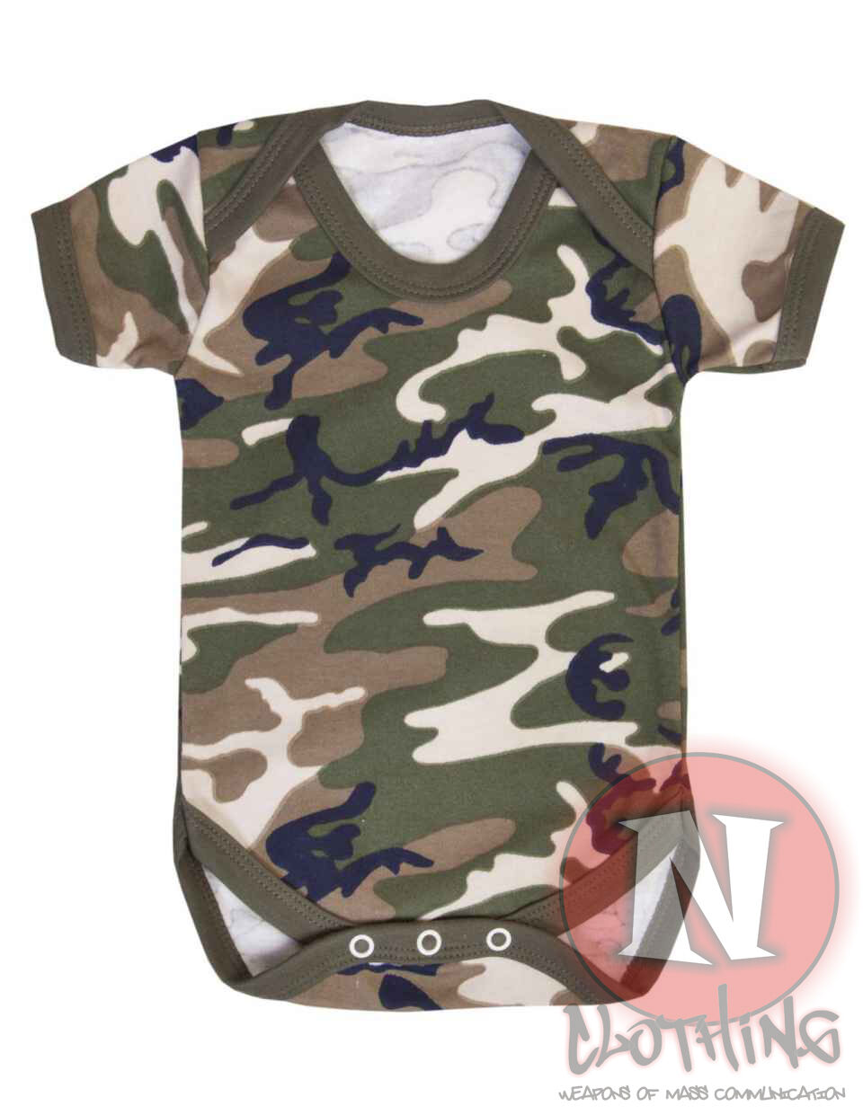 Camouflage fun babygrow baby suit vest all sizes cute baby shower army military
