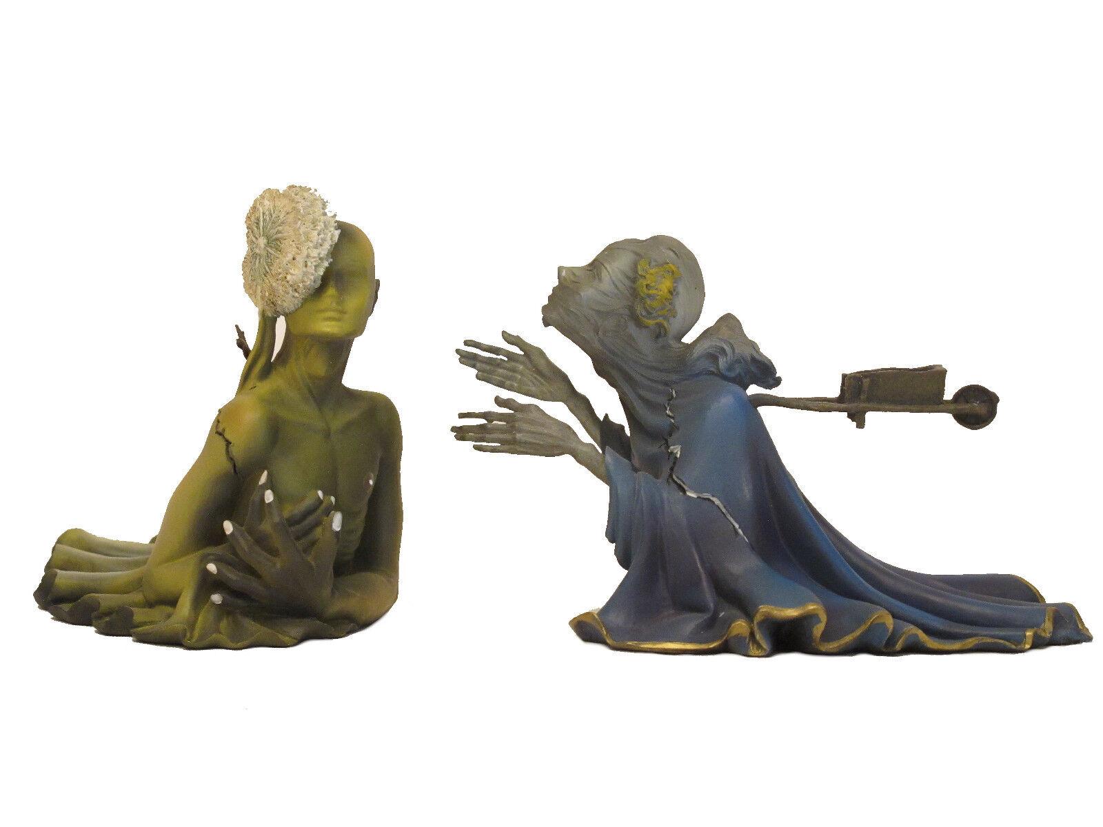 Salvador Dali  Tristan isolda  escultura figura - 20123