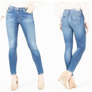 AG-Adriano-Goldschmied-Jeans-Farrah-High-rise-Skinny-Woman-Size-31-New-NWT
