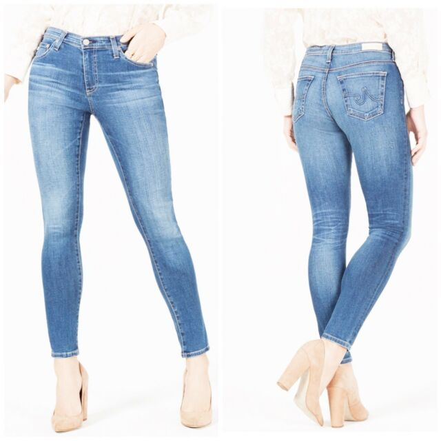 AG Adriano Goldschmied Jeans Farrah High-rise Skinny Woman Size 31 New NWT