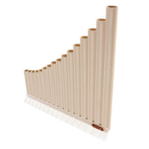 Pan Flute 16 Pipes C Tone Pan Pipes Flauta Xiao Beginner Woodwind Instrument