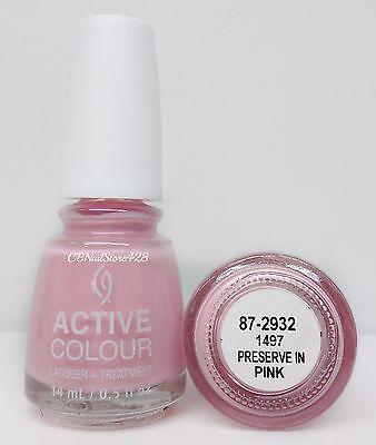 China Glaze Active Colour - LACQUER + TREATMENT 0.5oz - Pick Color