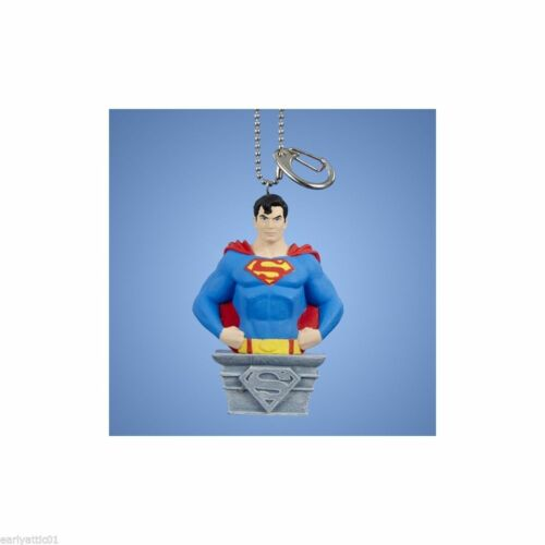 Superman Clip-On Keychain Christmas Ornament by Kurt Adler will Stand Alone