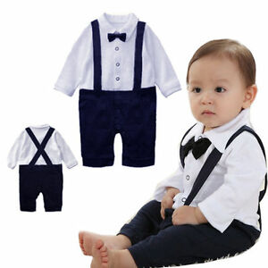 baby-boys-christening-outfit-3-24-months-wedding-birthday-christmas-suit-Uk-sell