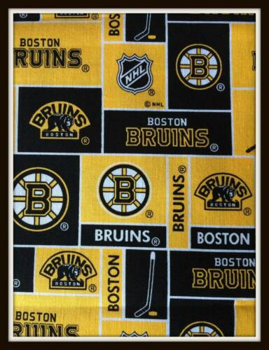 BOSTON BRUINS NHL HOCKEY BURP CLOTH CLOTHS BURP RAG BABY INFANT BOY GIRL