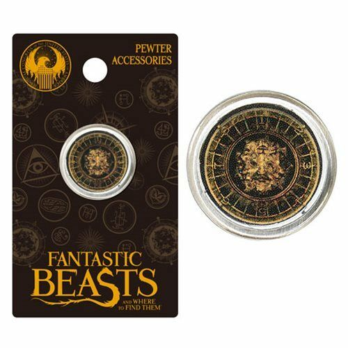Fantastic Beasts and Where to Find Them Official Style A Pewter Lapel Pin