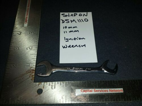 Snap On Tools DSM1110 11–10 mm Metric 15°// 60° Offset Open-End Ignition Wrench