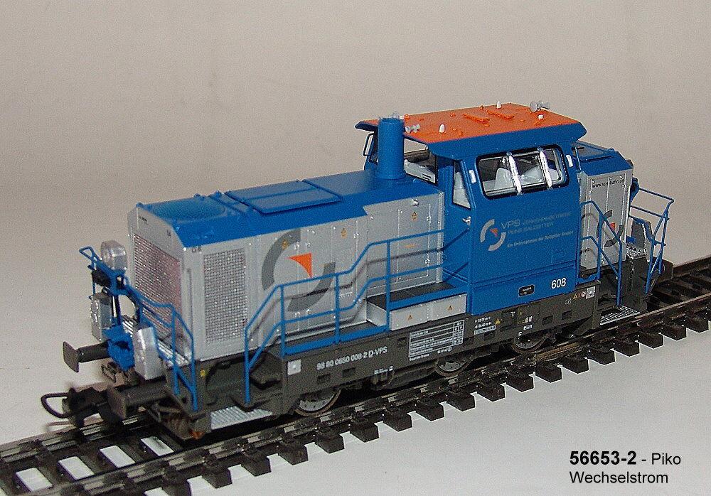 Piko 52653-2 Locomotora Diésel Vossloh G6 Vps  Cummins  Corriente Alterna