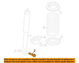 FORD-OEM-12-18-Focus-Rear-Suspension-Shock-Assembly-Bolt-W711890S442