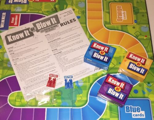 2009 Edition Know It or Blow It Game by Patch 100/% Complete!