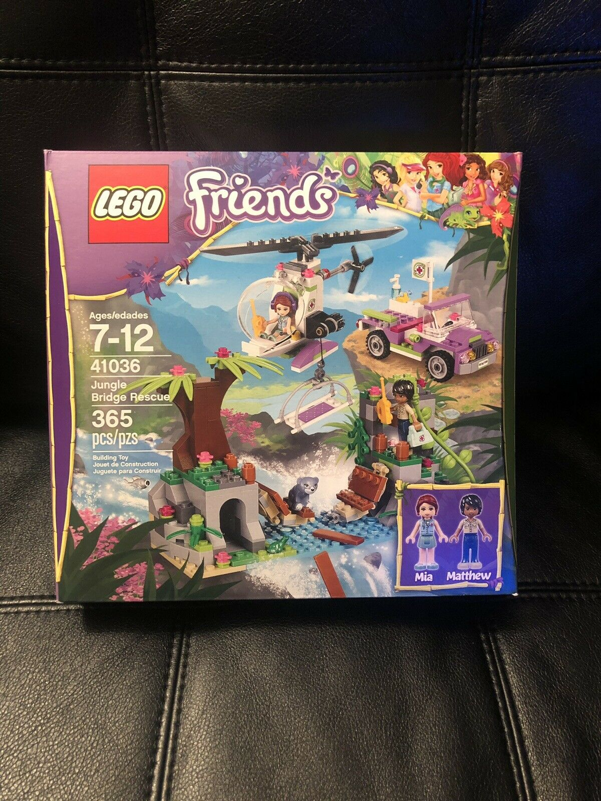 NEW LEGO Friends Jungle Bridge Rescue 41036 Building Set