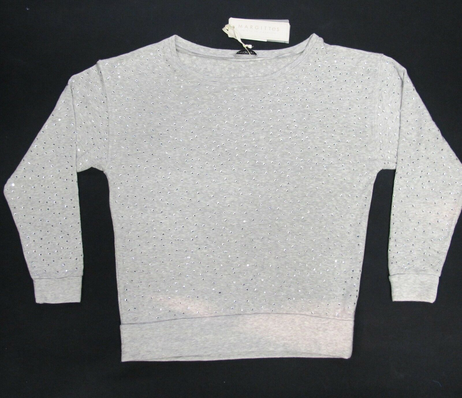 Margittes Sweatshirt Sweatshirt Sweatshirt Art. 26543 1412 Grau  Gr. 38,40  129,00 | Up-to-date Styling  3649d1