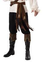 Brown Pirate Sash Buccaneer Belt Pirate Costume Accessory 80in