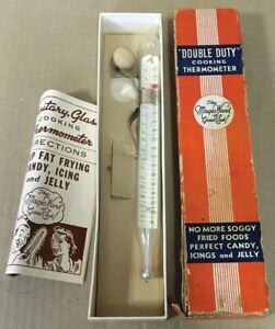 Two Vintage Meat Thermometers