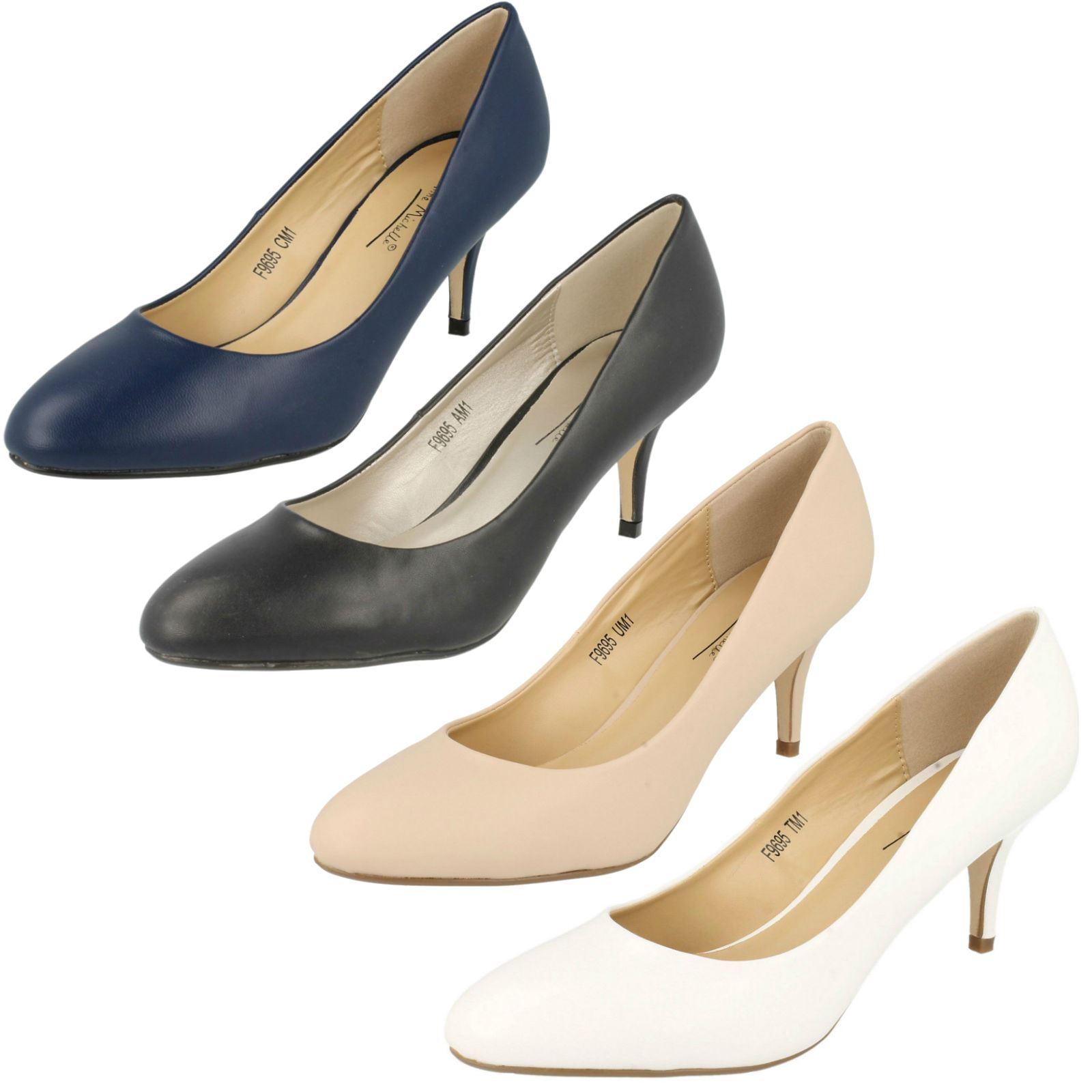 Ladies Anne Michelle synthetic court shoe F9695