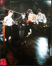 THE BEATLES POSTER PAGE . 1966 PAPERBACK WRITER PROMO SHOOT . V21