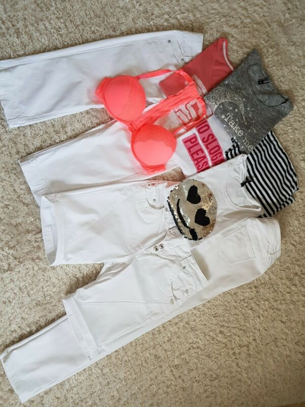 Professioneller Verkauf Paket Weiße Hosen, Shirts 2019 New Fashion Style Online