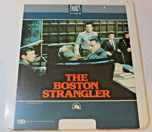 The-Boston-Strangler-1968-20th-Century-Fox-CED-Video-Disc-videodisc-movie-RARE