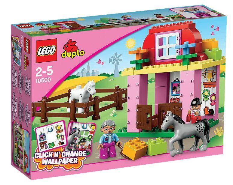 LEGO ® DUPLO ® 10500 écurie Nouveau neuf dans sa boîte _ Horse Stable NEW En parfait état, dans sa boîte scellée Boîte d'origine jamais ouverte