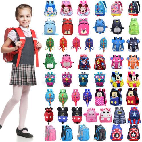Waterproof Girls Boys School Bag Backpack Kids Travel Rucksack Hand Bags Satchel