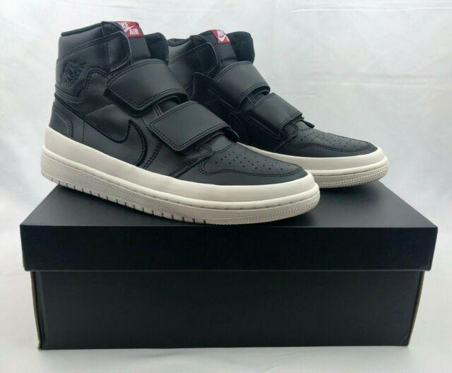 wholesale dealer 84ca9 7ed86 NIB Nike Air Jordan 1 Retro High Double Strap Black Sail AQ7924-001 Men's  Size