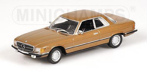 Heng aime Noël, la chaleur du coeur Mercedes Benz 450 SLC 1974 Gold Metallic 430033425 1/43 Minichamps | Formes élégantes  | Ont Longtemps Joui D'une Grande Renommée