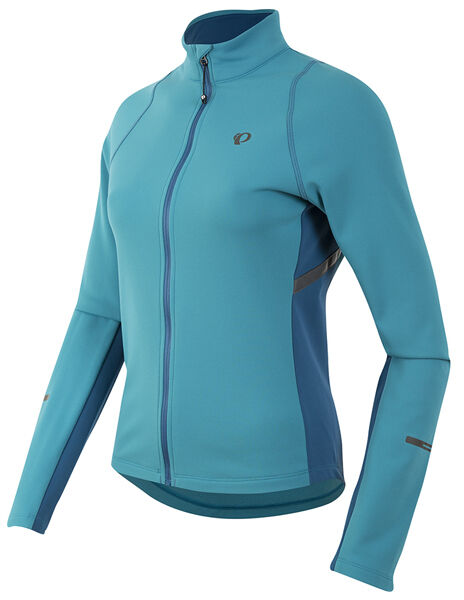 Pearl Izumi 2017 Women's Select Escape Thermal Bike Jersey Pagoda bluee - Small