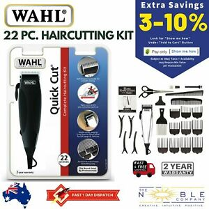 Wahl-Hair-Clippers-Electric-Mens-Professional-Haircut-Trimmer-Boys-Grooming-Kit