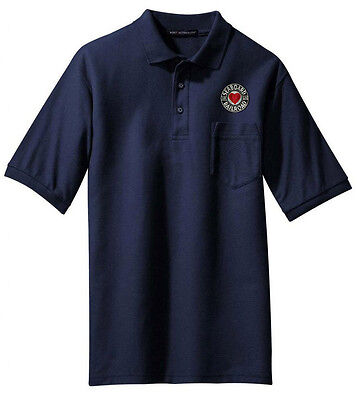 Seaboard Air Line Railroad Long Sleeve Embroidered Denim den116LS