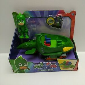 PJ-Masks-Gekko-Mobile-Vehicle-amp-Figure-Damaged-Packaging-See-Pics-24575