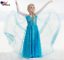 Gorgeous Frozen Queen Elsa Princess Anna Costume Cosplay Party Dress Up K9