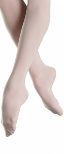 XL S LADIES FULL FOOT BALLET DANCE TIGHTS IN TAN- 4 SIZES L M